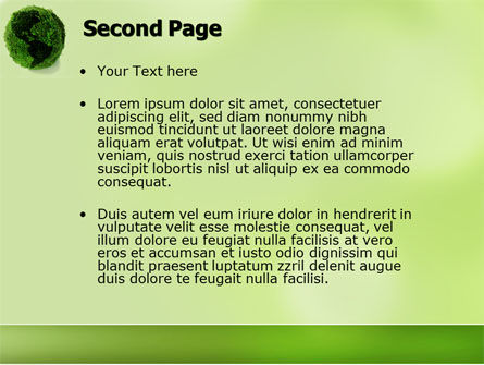 Green Land PowerPoint Template Slide 2