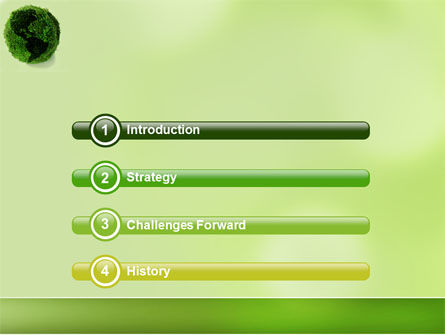 Green Land PowerPoint Template Slide 3