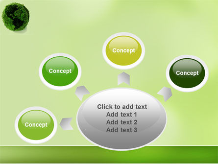 Green Land PowerPoint Template Slide 7