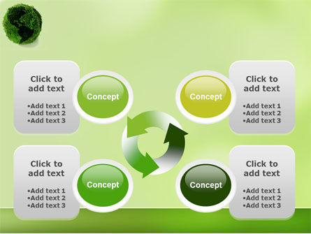 Green Land PowerPoint Template Slide 9