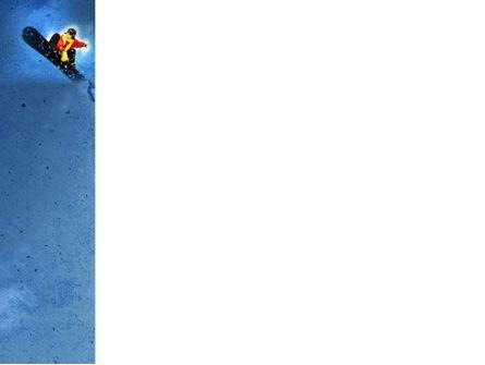 Snowboard PowerPoint Template, Slide 3, 04275, Sports — PoweredTemplate.com