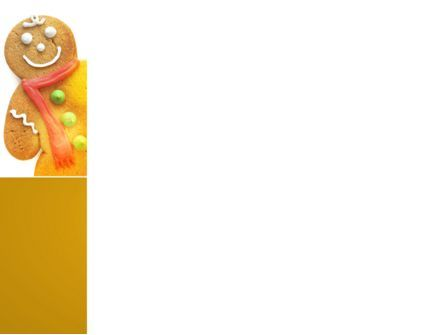 Gingerbread Man PowerPoint Template, Slide 3, 04276, Holiday/Special Occasion — PoweredTemplate.com