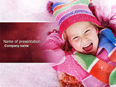 People: Winter Holiday Free PowerPoint Template #04277