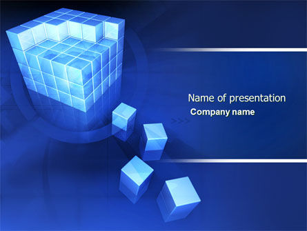 Business Model PowerPoint Template, 04278, 3D — PoweredTemplate.com