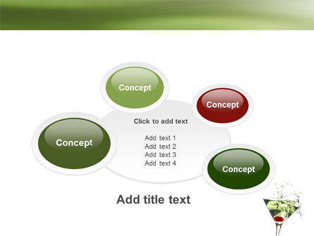 Martini Drink PowerPoint Template Slide 16
