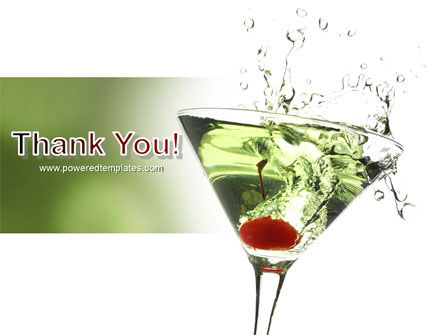 Martini Drink PowerPoint Template Slide 20