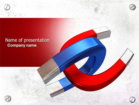 Education & Training: Magnet PowerPoint Template #04283