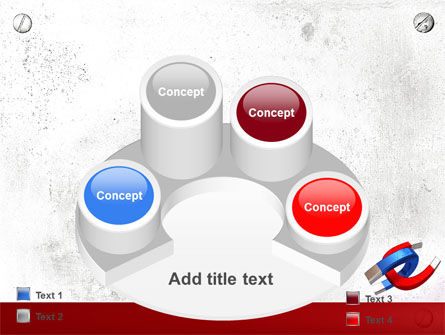 Magnet PowerPoint Template Slide 12