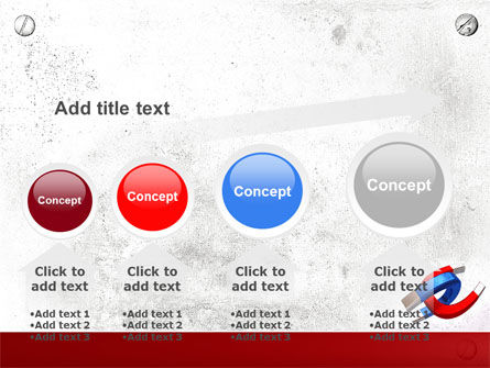Magnet PowerPoint Template Slide 13