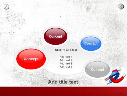 Magnet PowerPoint Template Slide 16