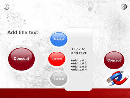 Magnet PowerPoint Template Slide 17