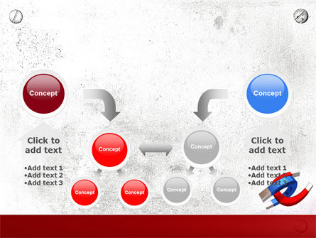 Magnet PowerPoint Template Slide 19
