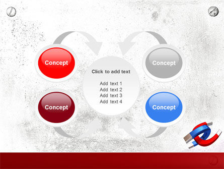 Magnet PowerPoint Template Slide 6