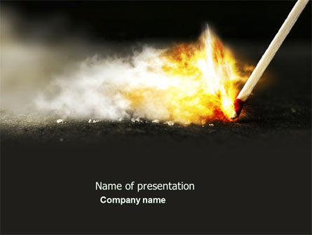 Business Concepts: Firestarter PowerPoint Template #04284