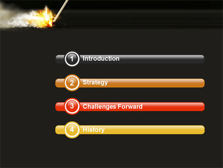 Firestarter PowerPoint Template Slide 3