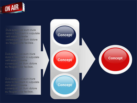 Live Broadcast PowerPoint Template Slide 11