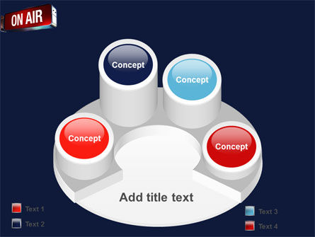 Live Broadcast PowerPoint Template Slide 12
