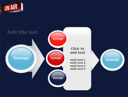Live Broadcast PowerPoint Template Slide 17