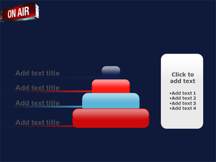 Live Broadcast PowerPoint Template Slide 8