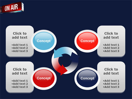 Live Broadcast PowerPoint Template Slide 9