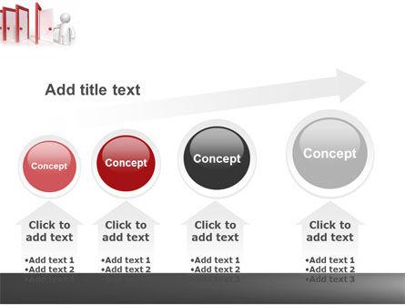 Enfilade Open Doors PowerPoint Template Slide 13