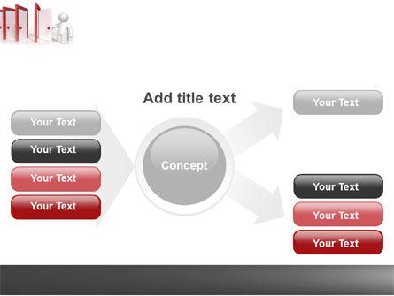 Enfilade Open Doors PowerPoint Template Slide 14