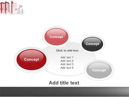 Enfilade Open Doors PowerPoint Template Slide 16