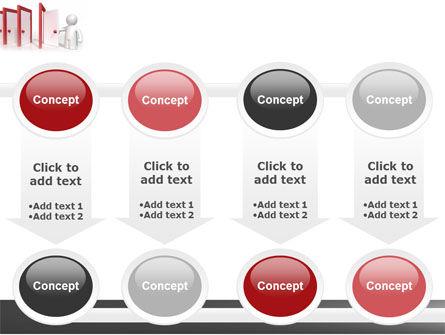Enfilade Open Doors PowerPoint Template Slide 18