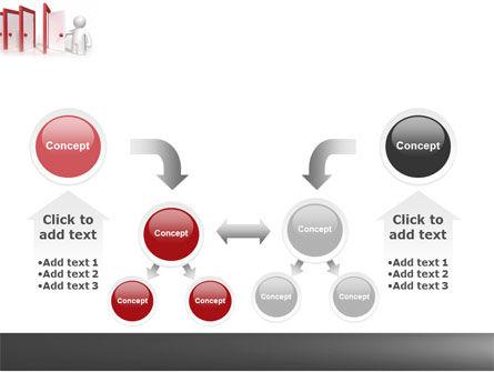 Enfilade Open Doors PowerPoint Template Slide 19