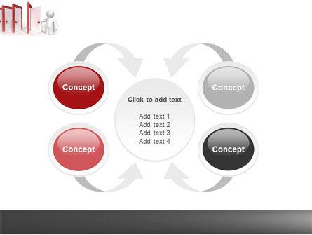 Enfilade Open Doors PowerPoint Template Slide 6