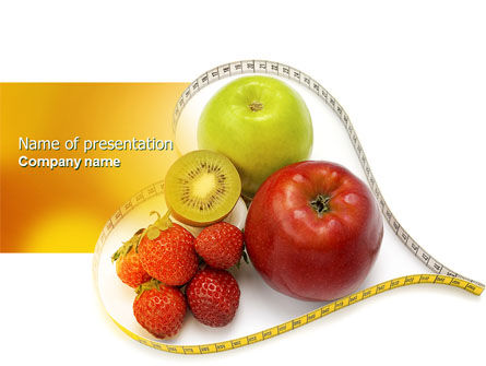 Medical: Balanced Nutrition PowerPoint Template #04289