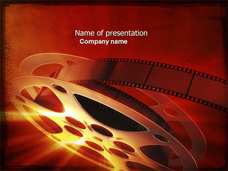 Art & Entertainment: Filmmaking PowerPoint Template #04295