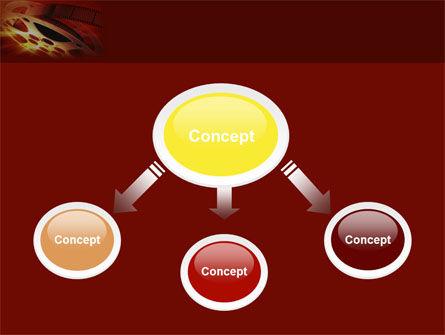 Filmmaking PowerPoint Template, Slide 4, 04295, Art & Entertainment — PoweredTemplate.com