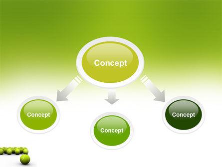 Tennis Balls PowerPoint Template, Slide 4, 04296, Sports — PoweredTemplate.com
