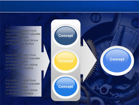 Precision Clockwork PowerPoint Template Slide 11