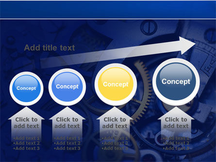 Precision Clockwork PowerPoint Template Slide 13