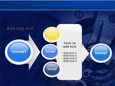 Precision Clockwork PowerPoint Template Slide 17