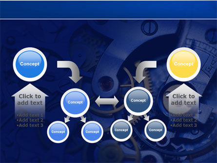 Precision Clockwork PowerPoint Template Slide 19