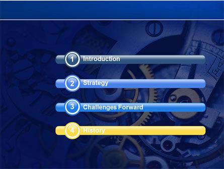 Precision Clockwork PowerPoint Template, Slide 3, 04297, Construction — PoweredTemplate.com