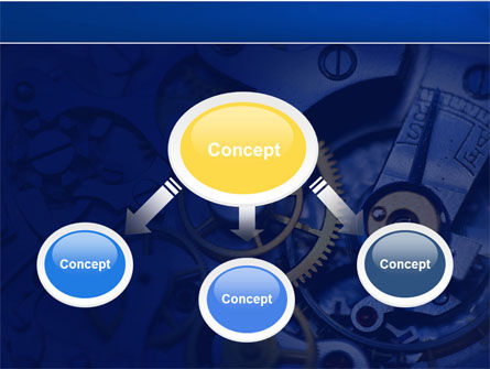 Precision Clockwork PowerPoint Template Slide 4