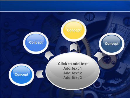 Precision Clockwork PowerPoint Template Slide 7