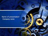 Construction: Modèle PowerPoint de ferronnerie de précision #04297