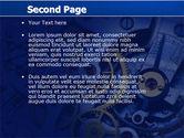 Precision Clockwork PowerPoint Template#2