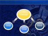 Precision Clockwork PowerPoint Template#4