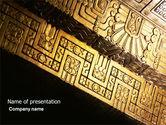 Art & Entertainment: Modèle PowerPoint de culture indigène #04298