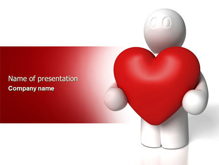 Holiday/Special Occasion: True Love PowerPoint Template #04299