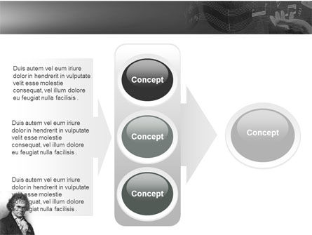 Beethoven PowerPoint Template Slide 11