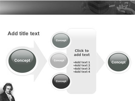 Beethoven PowerPoint Template Slide 17