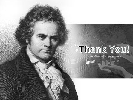 Beethoven PowerPoint Template Slide 20