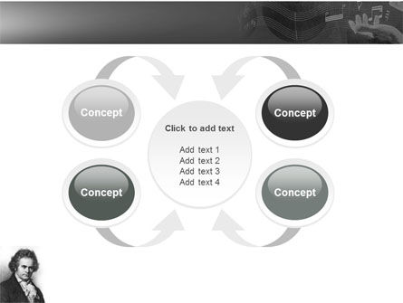 Beethoven PowerPoint Template Slide 6
